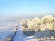 Еще немного слов о климате Новосибирской области и ее зимнем варианте